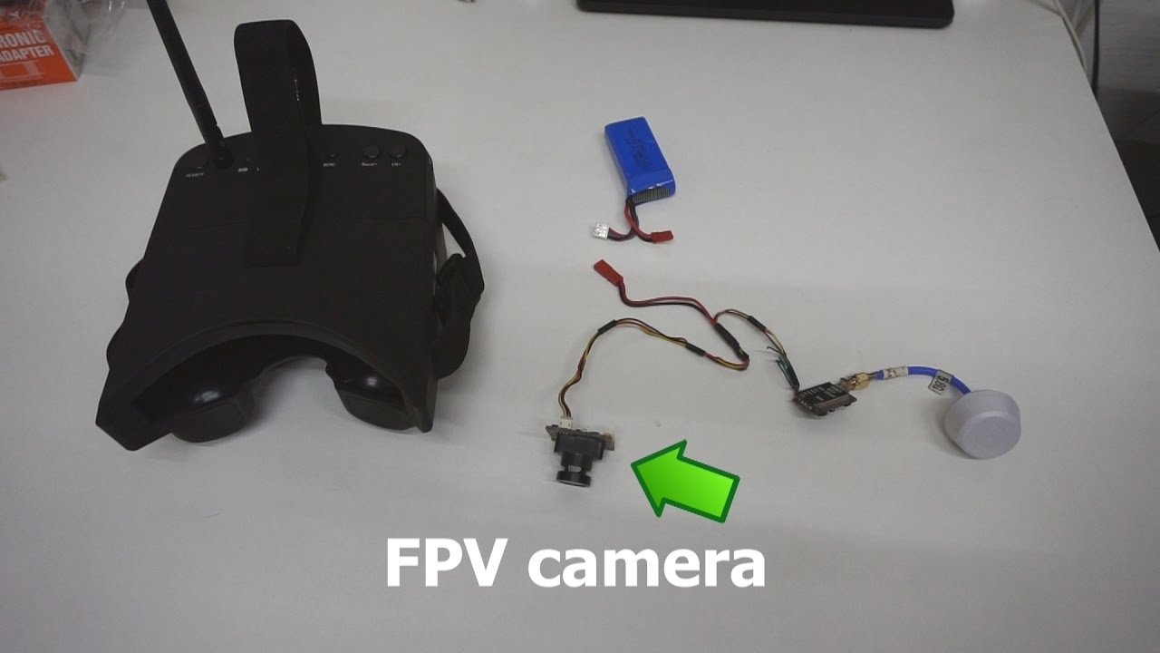 How to set up an FPV camera (5.8GHz Wireless Video Transmission + ...