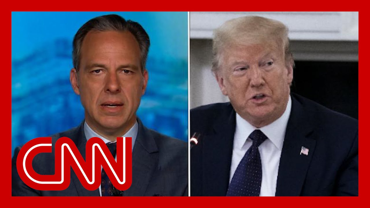 Tapper: Trump standing firm with 'dead, racist losers'