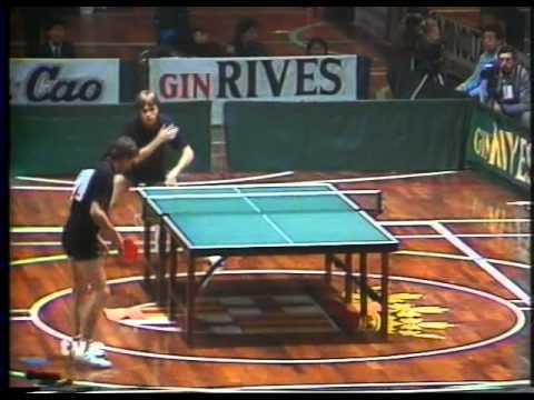 TENNIS TABLE  europa top 12 - barcelona 85 - 1985 10