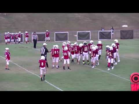 Danny Doerr Highlights from 10/1/19 Escambia Academy vs Lowndes Academy