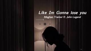 Download Lagu [THAISUB] like I'm gonna lose you - Meghan Trainor Ft John Legend (cover by Jasmine Thompson) mp3
