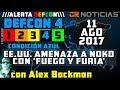 ///ALERTA DEFCON\\\ ::: DEFCON 4 :::: CONDICION AZUL (AGOSTO 11 2017)