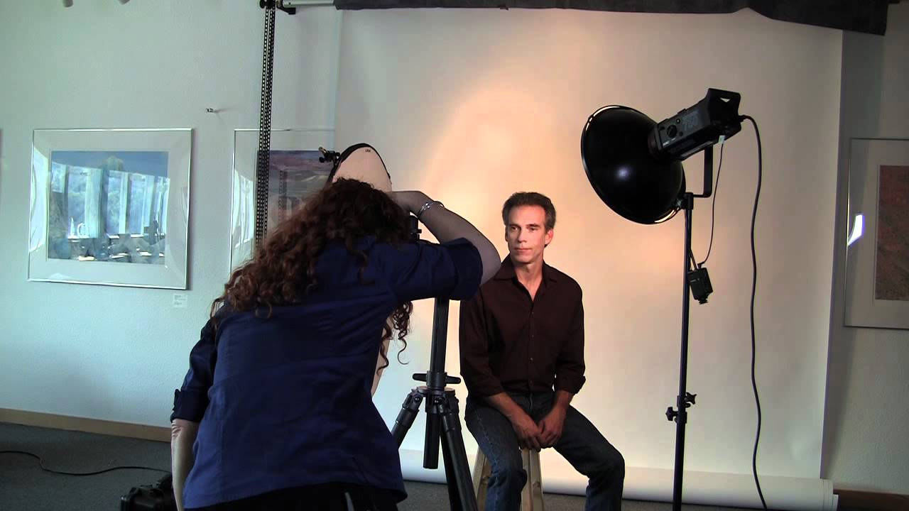 Posing And Directing Clip Male Headshot Introduction And