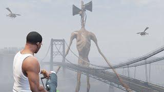 ich finde SIREN HEAD in GTA 5!