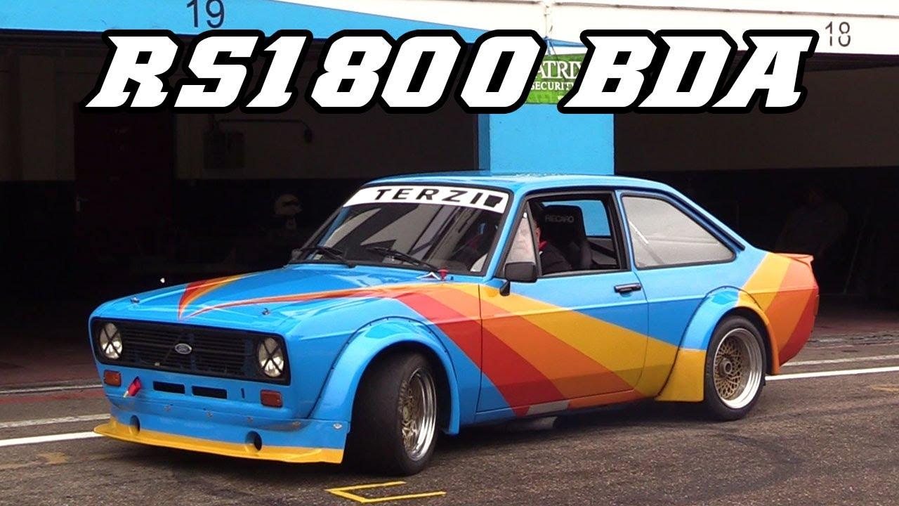TERZI Ford Escort mk2 RS1800 BDA