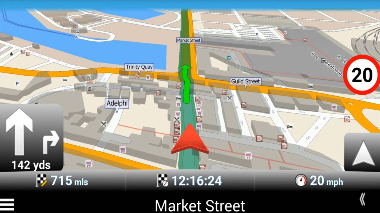 MapFactor GPS Navigation App version 2 1 for Android - Short App Introducion
