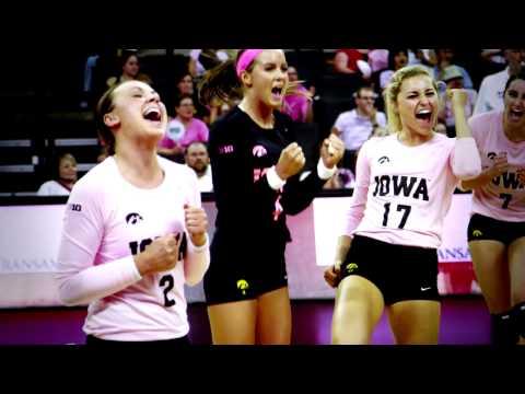 2013 University of Iowa Volleyball Highlight Video