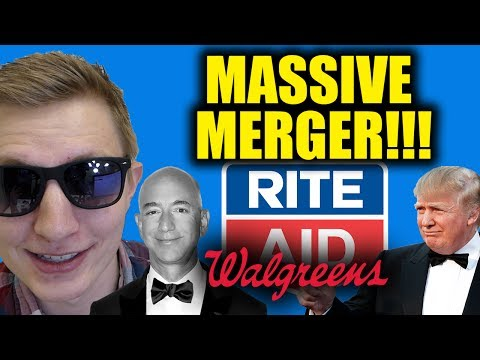 MASSIVE RITE AID + WALGREENS MERGER - Is the Minimum Wage Working? - Trump vs Bezos