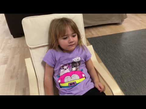 Ikea Children S Chair Poang Youtube