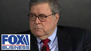 William Barr on big tech: Companies becoming successful, dominant is not wrong