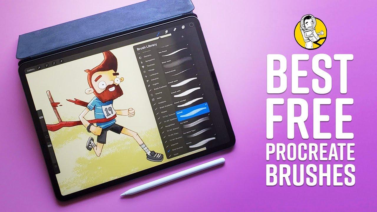 My Favorite Free Procreate Brushes