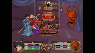 Adventure Quest- Tai (Level 136) vs Infernomancer Pir'os and Stragath's Head(Level 140)!