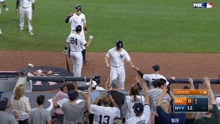 6/10/17: Yanks belt five homers in 16-3 rout over O's