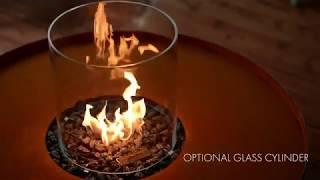 Fire Pit Corten – a modern patio fire pit Planika