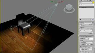 Настройка источников света в 3DS Max 2009 (30/44)