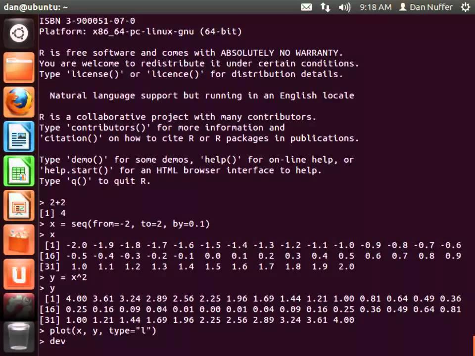 r commander download linux