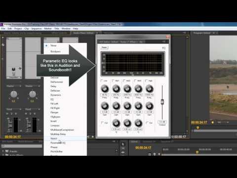 Premiere Pro CS6 Techniques: 74 Audio 4: Clip & Track FX