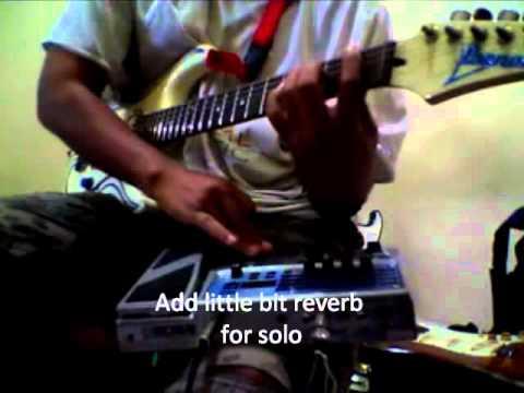 Boss ME-20 Metal setting demo by Ison SOV