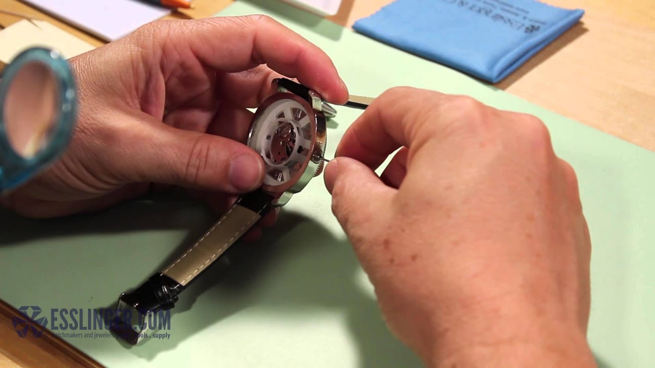 medium resolution of how to remove replace a watch crown