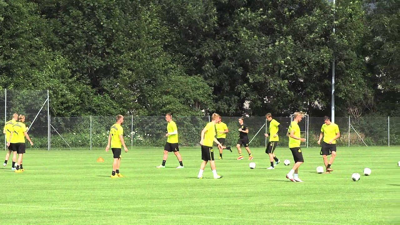 Borussia Dortmund im Trainingslager in Bad Ragaz 2013