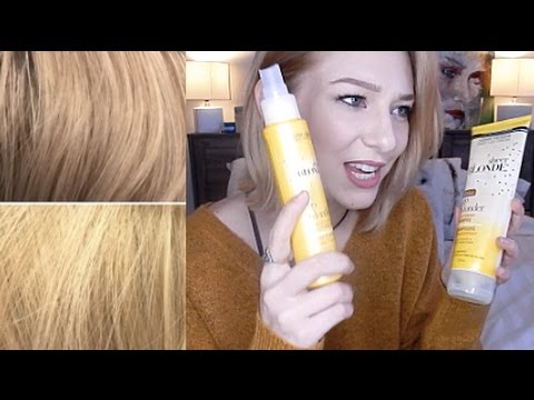 John Frieda Go Blonder Review Before And After Youtube