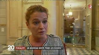 Olivia Grégoire - JT de France 2 - 02/10/2017