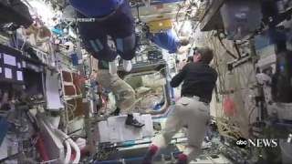The Mannequin Challenge Travels to Space