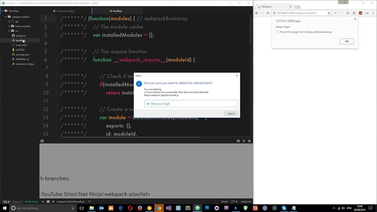 Webpack Tutorial for Beginners #3 - The webpack config File