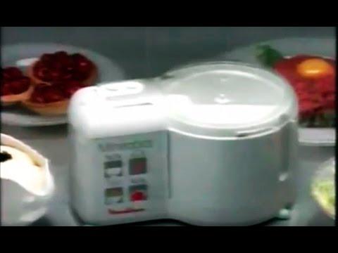 1992 nuevo mini robot moulinex hace de todo publicidad anuncio comercial youtube. Black Bedroom Furniture Sets. Home Design Ideas
