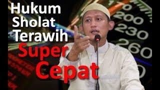 Download Video Hukum Sholat Terawih Super Cepat - Ustadz Abu Yahya Badrusalam, Lc MP3 3GP MP4