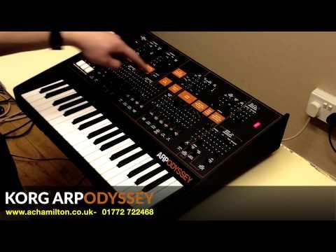 Korg Arp Odyssey Demo by Luke Edwards at A&C Hamilton