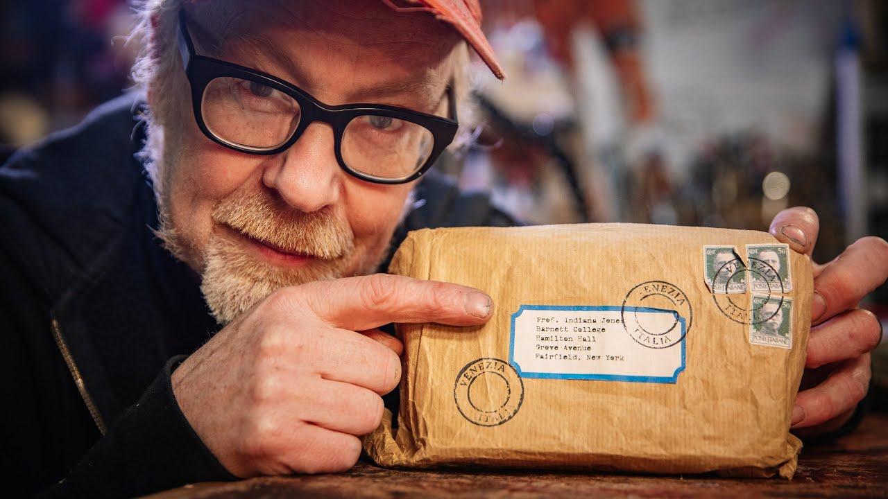Adam Savage's Indiana Jones Grail Diary Prop Replica!