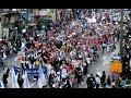 Israel supporters march in Jerusalem