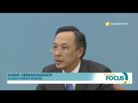 Kazakh foreign minister meets with diplomatic corps