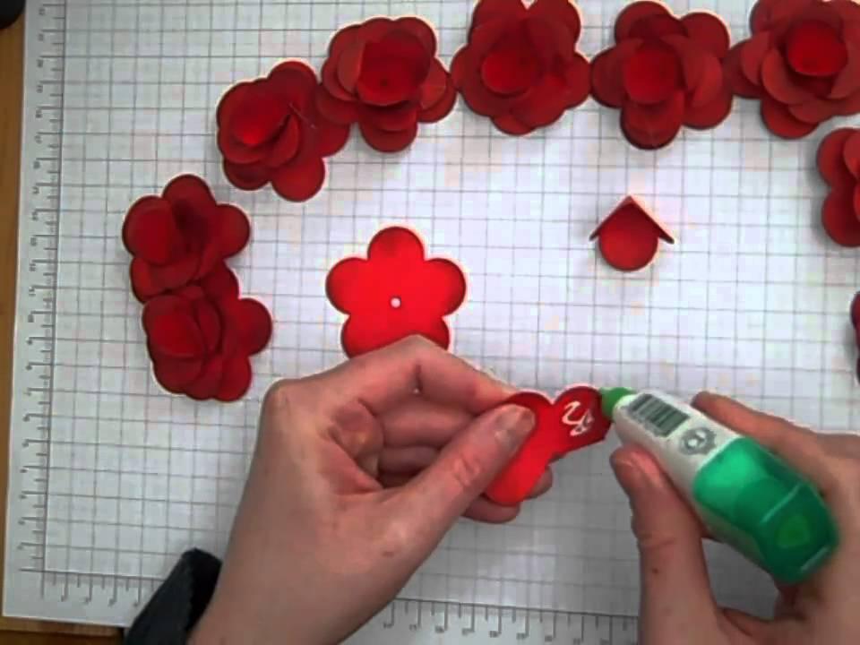 Stampin up fancy flower punch youtube mightylinksfo
