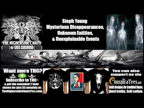Steph Young | Mysterious Disappearances, Unknown Entities, & Unexplainable Events