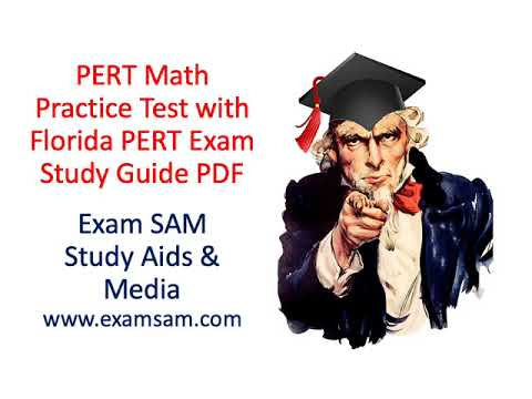 PERT Math Practice Test With Florida PERT Exam Study Guide PDF