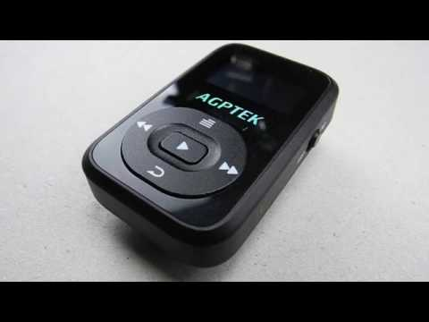 AGPtek Bluetooth MP3 Player  - 8GB -