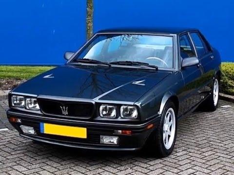 Maserati 4.24V, model year 1991 - YouTube