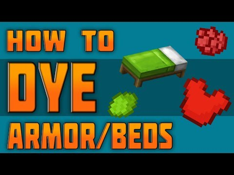 Tu54 How To Dye Armor Beds In Minecraft