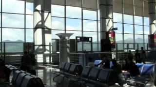 黄龍 2011年8月6日九寨溝・黄龍空港で