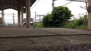 甲種輸送EF210 17号機+京急新1000形(1637F) 米原駅通過
