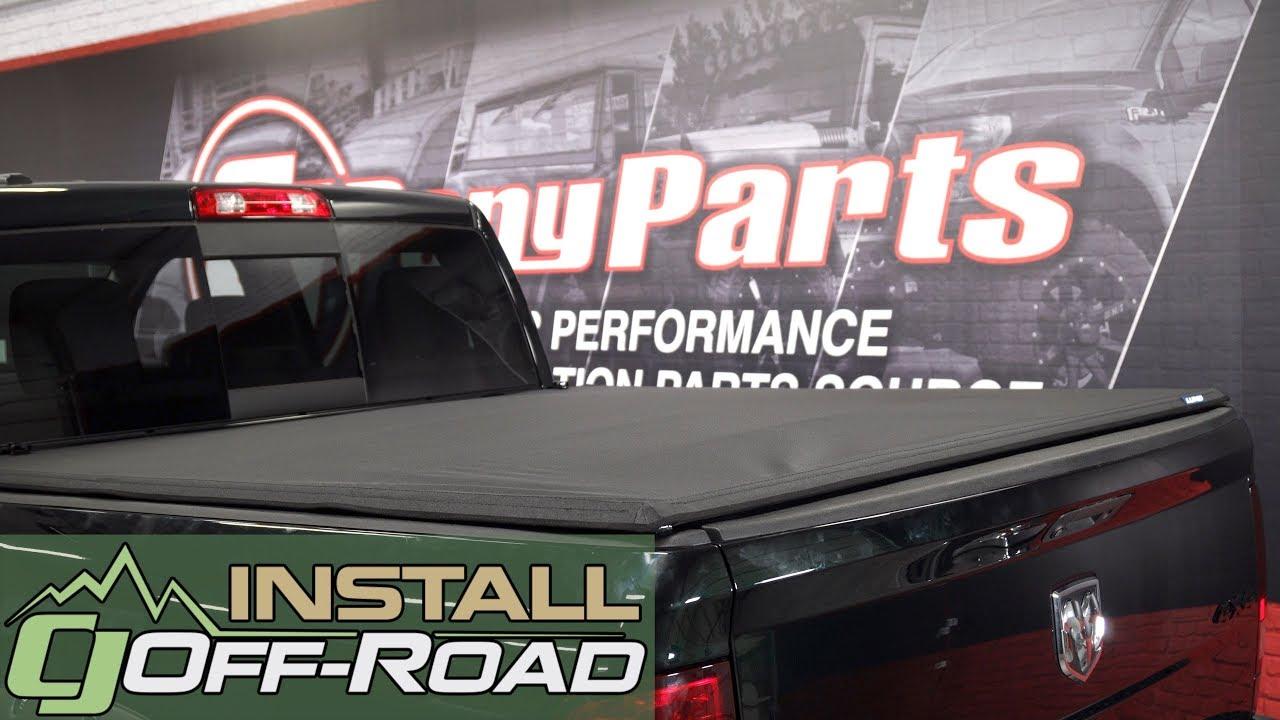 Dodge Ram Install Lund Genesis Elite Tri Fold Tonneau Cover For 2002 2018 5 7 Box Ram 1500s Youtube