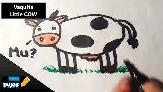 COMO DIBUJAR UNA VAQUITA? / HOW TO DRAW A LITTLE COW?