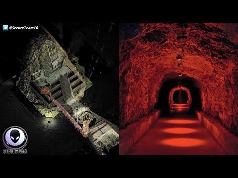 Tunnel To 'UNDERWORLD' Found Beneath Mexican Pyramid!