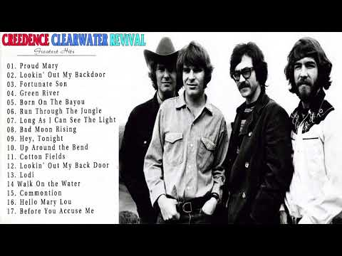 The Best Songs Of Creedence Clearwater Revival - CCR Album Playlist 2017