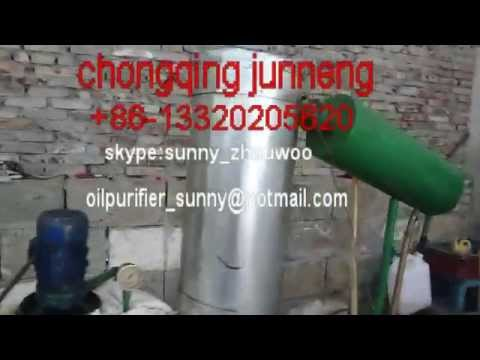 Waste Oil Recycling To Diesel Fuel Plant.mp4