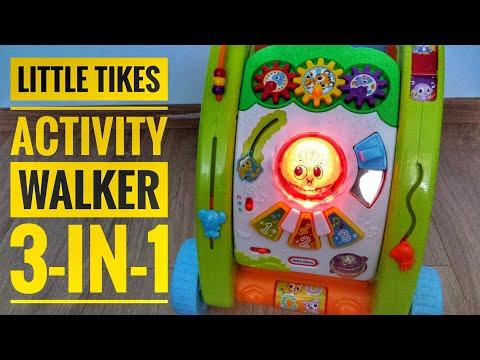 Little Tikes Chodzik 3-in-1 Activity Walker Light 'n Go [4K]