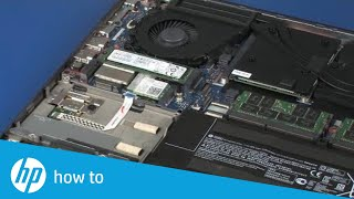 removing and replacing the hard disk drive assembly on the hp zbook 15 g3 mobile workstation