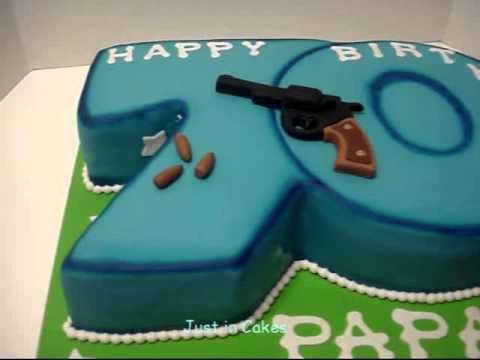 70th Birthday Cake Youtube